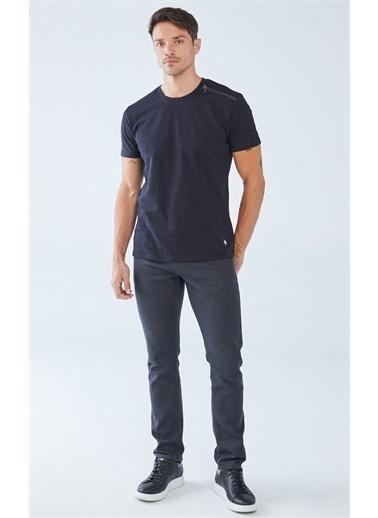 Boris Becker Fermuar Detaylı T-shirt Siyah